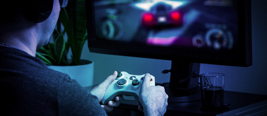 Which gaming technology lets you play your video games?