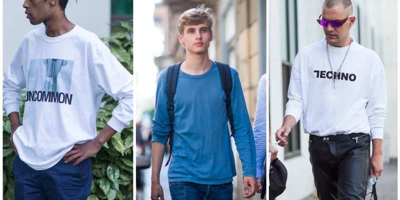 Different T-Shirt Types Every Man Should Know